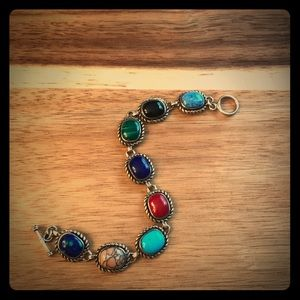 "Jewelry - Natural Stone Bracelet- 7"""